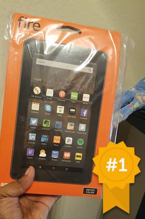Kindle Winner